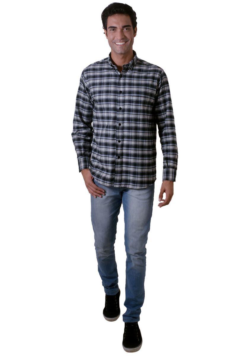 Camisa-casual-masculina-tradicional-flanela-preto-f05689a-4