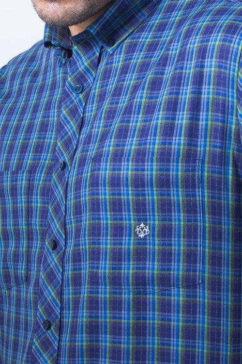 Camisa casual masculina flanela light grafite f01842a