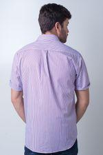 Camisa-casual-masculina-tradicional-algodao-fio-80-vermelho-f01279a-verso