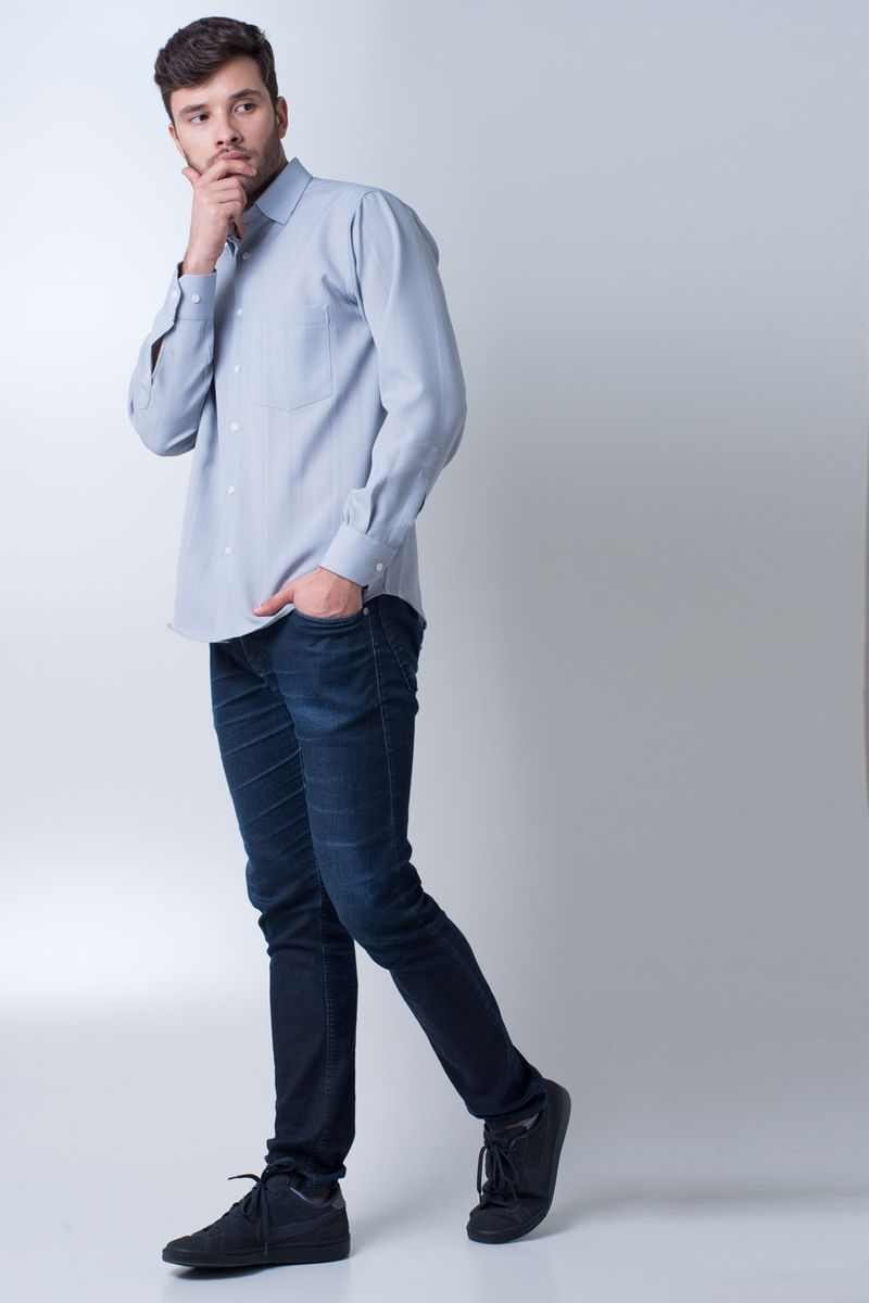 Camisa-casual-masculina-tradicional-microfibra-cinza-f06208a-detalhe2