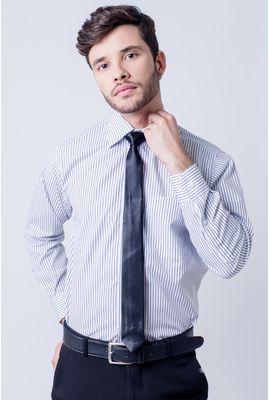 Camisa social masculina tradicional algodão fio 60 preto f03823a