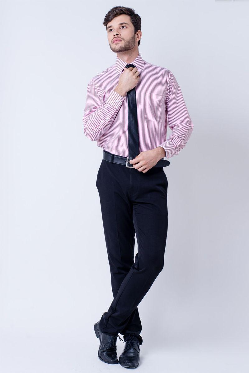 Camisa-casual-masculina-tradicional-algodao-fio-60-bordo-f03823a-detalhe2