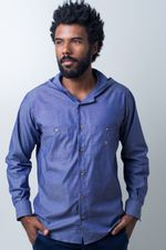 Camisa-casual-masculina-tradicional-algodao-fio-40-azul-f01444a-frente