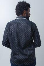 Camisa-casual-masculina-tradicional-algodao-fio-60-preto-f01784a-verso