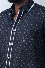 Camisa-casual-masculina-tradicional-algodao-fio-60-preto-f01784a-detalhe1