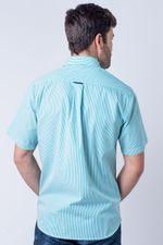 Camisa-casual-masculina-tradicional-algod-o-fio-60-verde-f01277a-verso