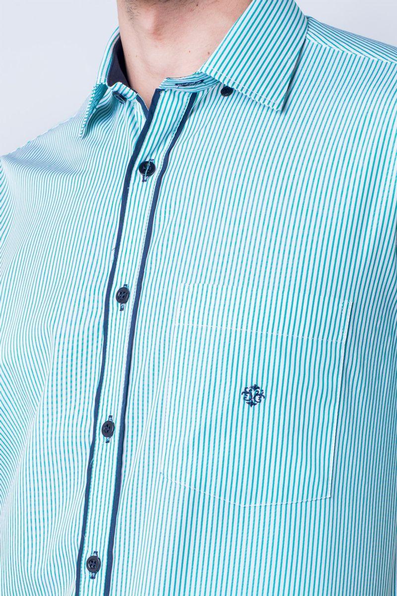 Camisa-casual-masculina-tradicional-algod-o-fio-60-verde-f01277a-detalhe1