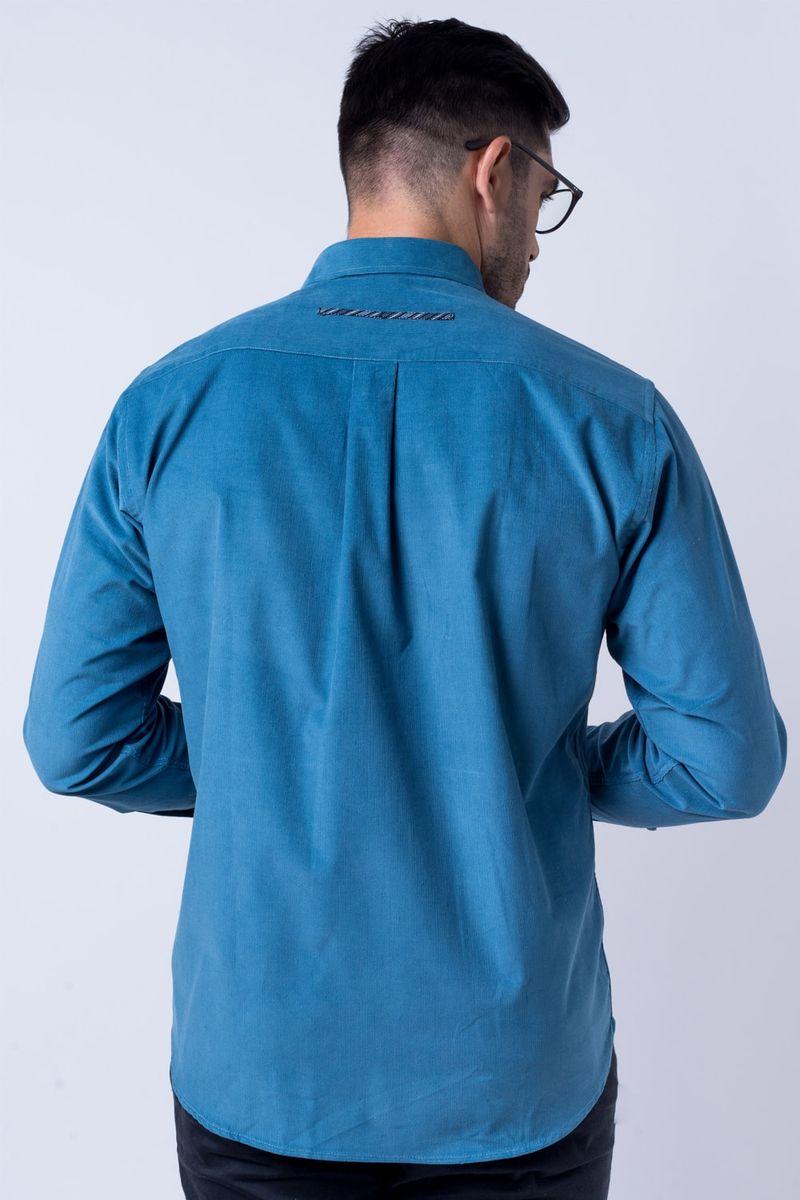 Camisa-casual-masculina-tradicional-veludo-azul-f01529a-verso