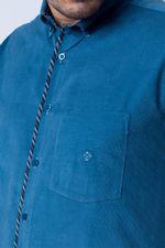 Camisa-casual-masculina-tradicional-veludo-azul-f01529a-detalhe1