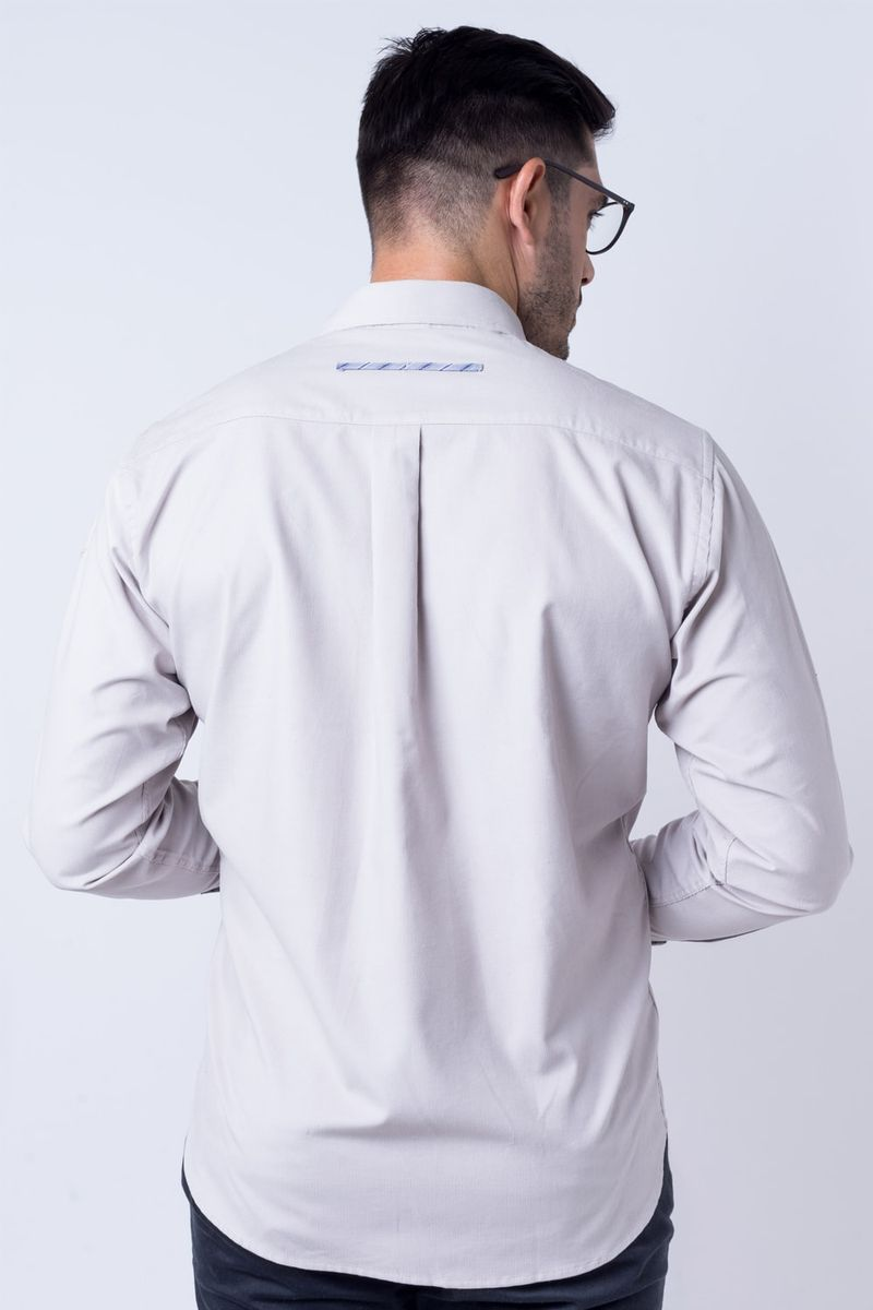 Camisa-casual-masculina-tradicional-veludo-cinza-f01529a-verso