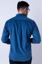 Camisa-casual-masculina-tradicional-veludo-azul-escuro-f01529a-verso