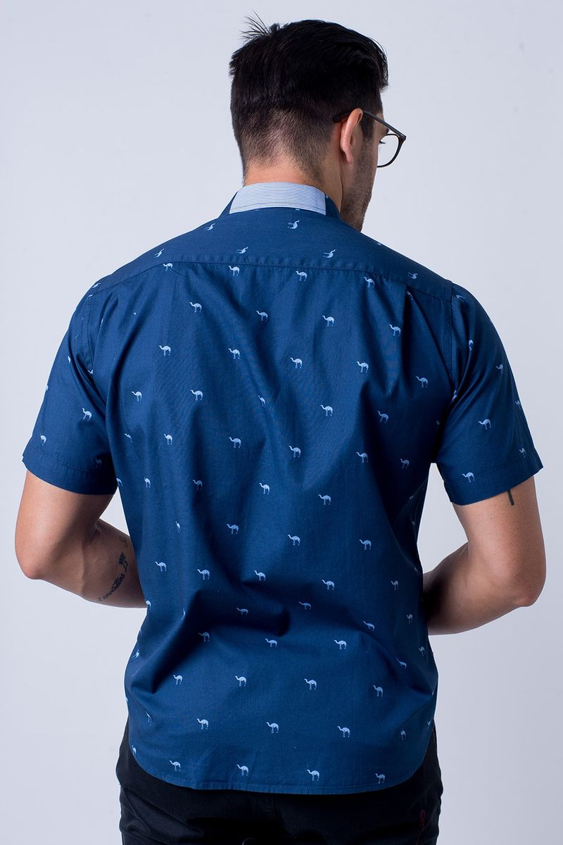 Camisa-casual-masculina-tradicional-algodao-fio-60-azul-escuro-f01345a-2