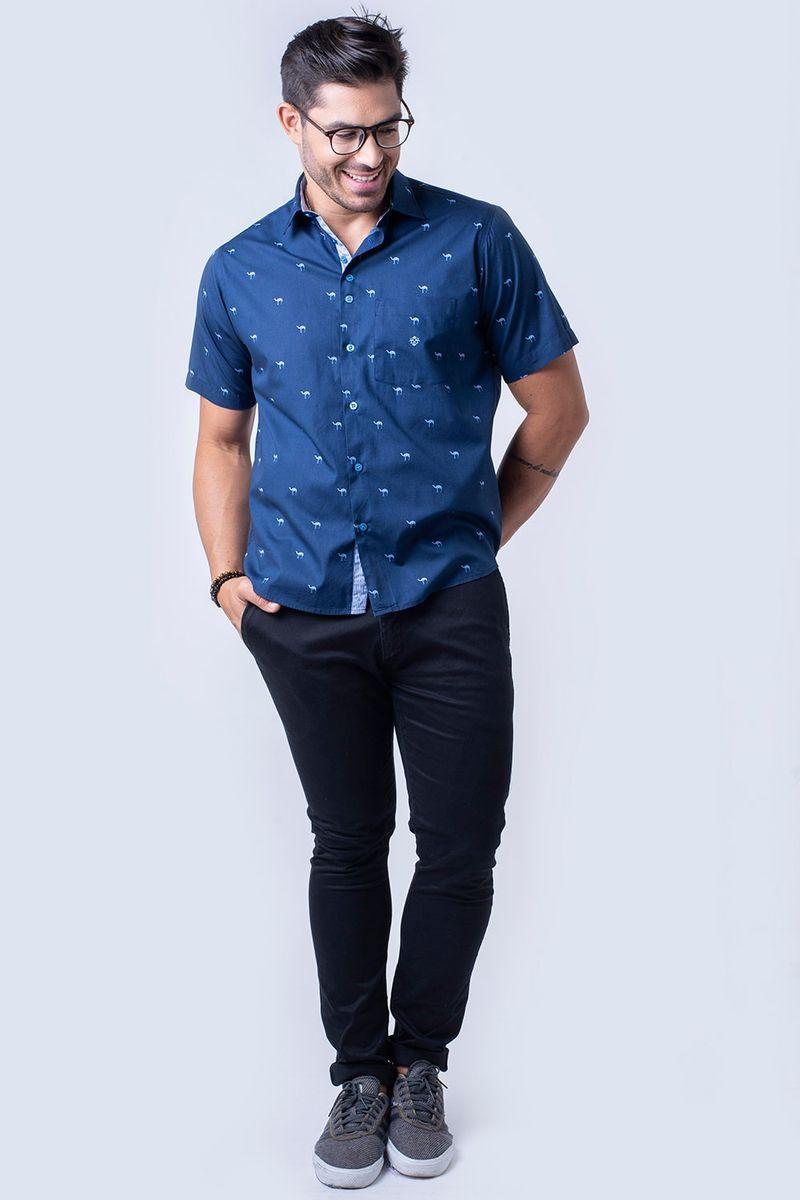 Camisa-casual-masculina-tradicional-algodao-fio-60-azul-escuro-f01345a-4