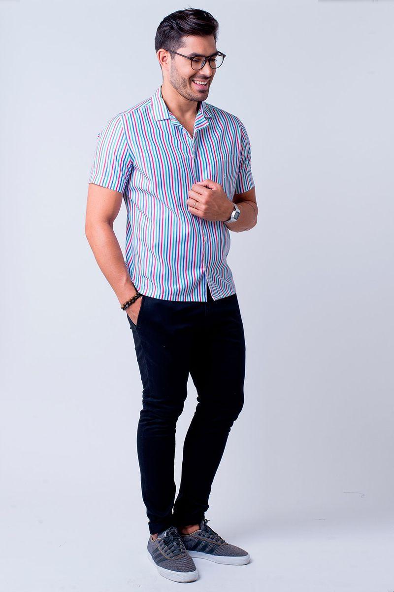 Camisa-casual-masculina-tradicional-algodao-fio-60-salmao-f01506a-4