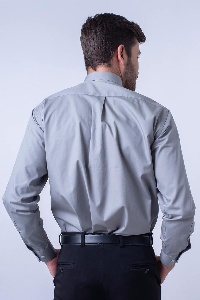 Camisa-social-masculina-tradicional-algodao-fio-40-cinza-f09935a-2