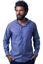 Camisa-casual-masculina-tradicional-algodao-fio-40-azul-f01444a-5