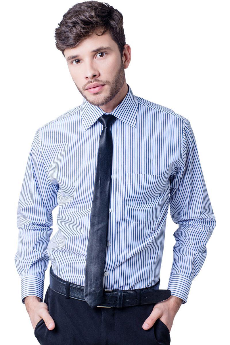Camisa-casual-masculina-tradicional-algodao-fio-60-azul-f03823a-5