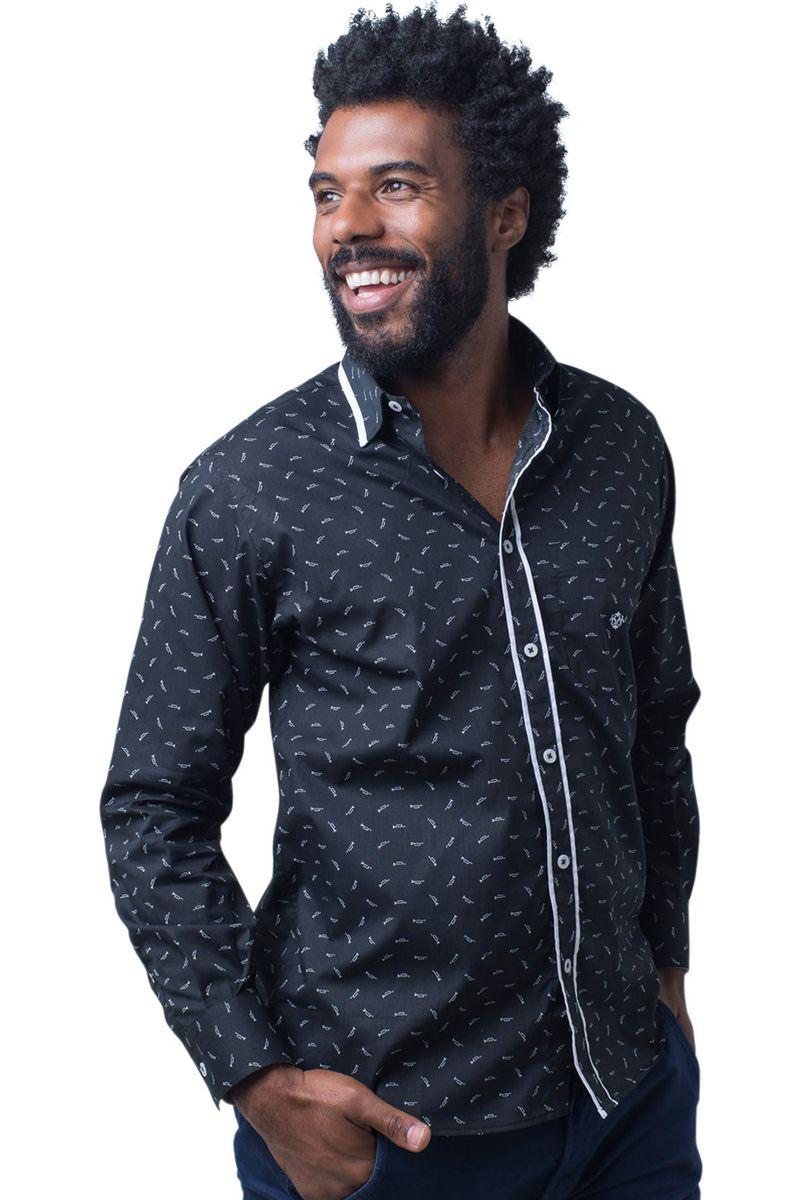 Camisa-casual-masculina-tradicional-algodao-fio-60-preto-f01784a-5