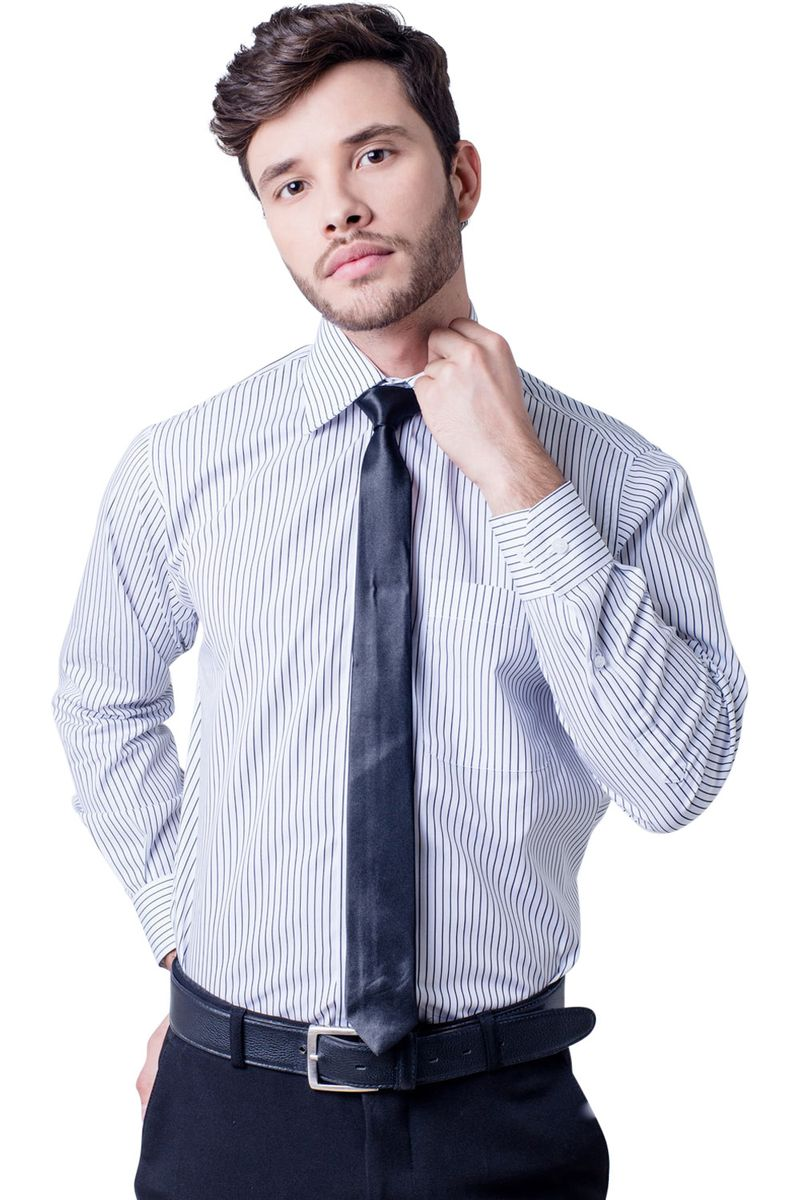 Camisa-casual-masculina-tradicional-algodao-fio-60-preto-f03823a-5