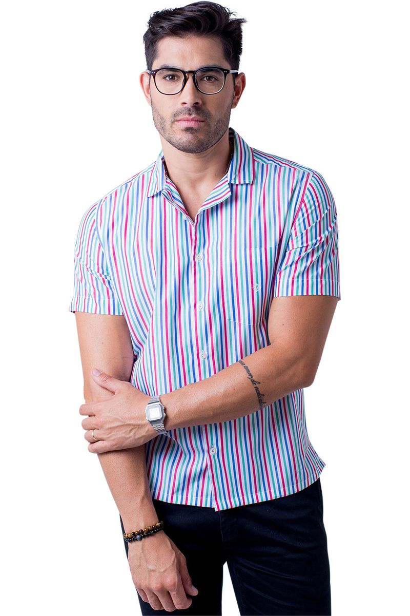 Camisa-casual-masculina-tradicional-algodao-fio-60-salmao-f01506a-5