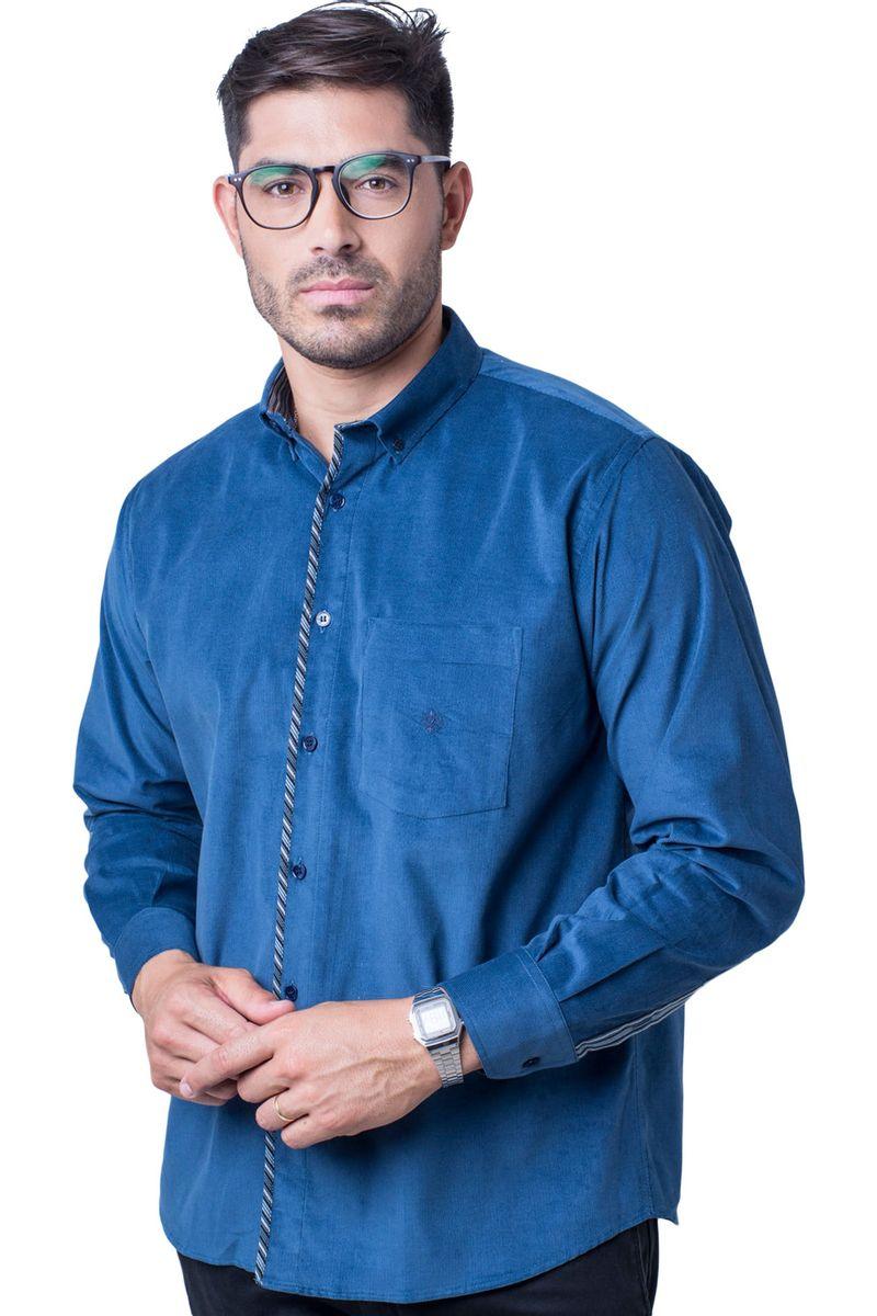 Camisa-casual-masculina-tradicional-veludo-azul-escuro-f01529a-5
