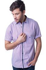 Camisa-casual-masculina-tradicional-algodao-fio-80-vermelho-f01279a-5