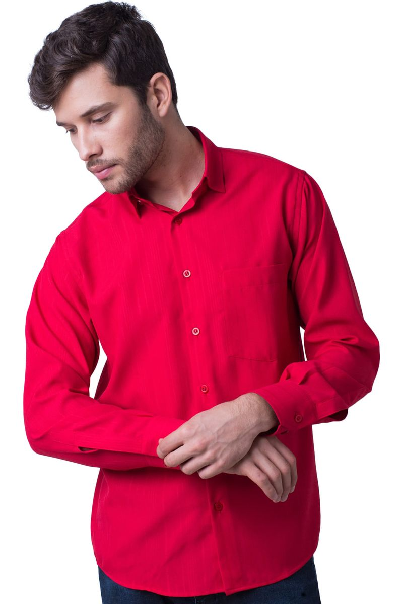 Camisa-casual-masculina-tradicional-microfibra-vermelho-f06208a-5