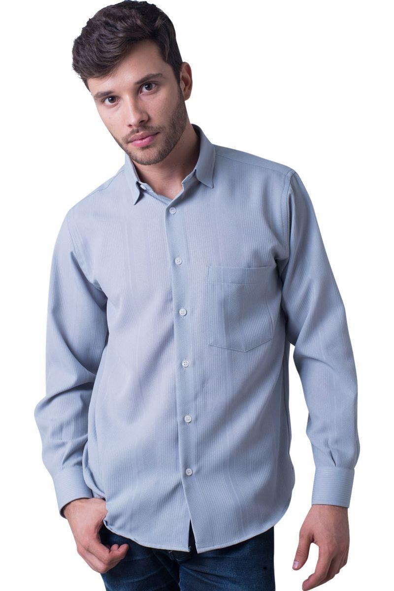 Camisa-casual-masculina-tradicional-microfibra-cinza-f06208a-5
