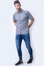 Camisa-casual-masculina-tradicional-algodao-fio-50-preto-f01196a-4