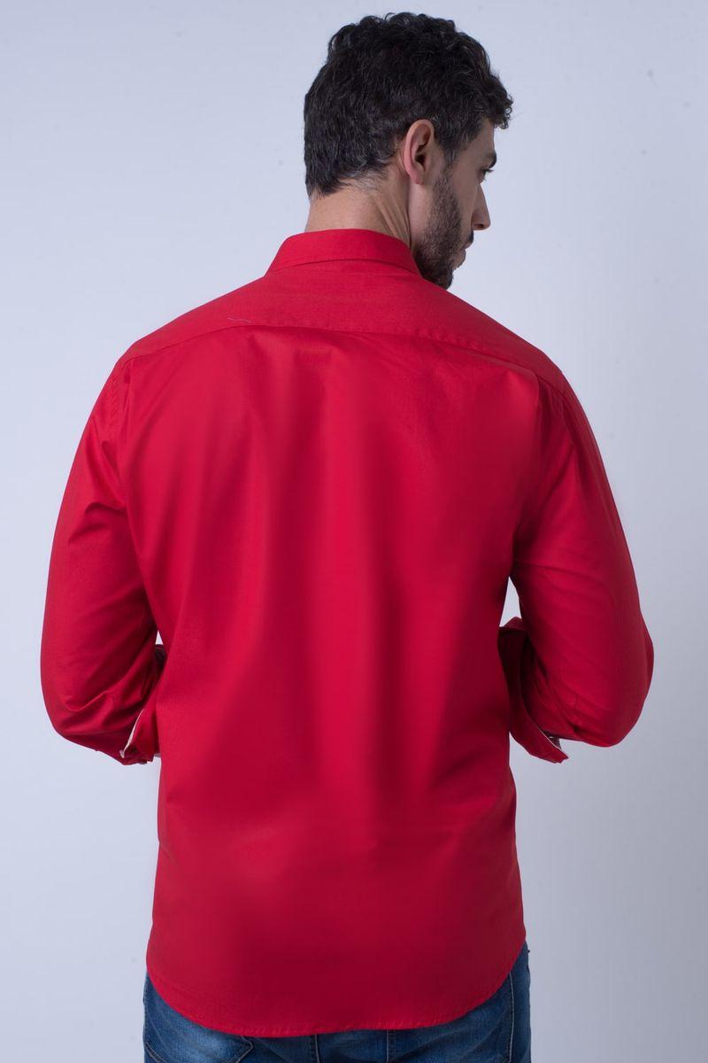 Camisa-casual-masculina-tradicional-algodao-fio-40-vermelho-f02043a-2