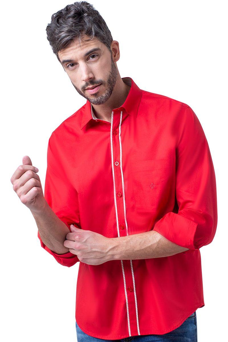 Camisa-casual-masculina-tradicional-algodao-fio-40-vermelho-f02043a-5