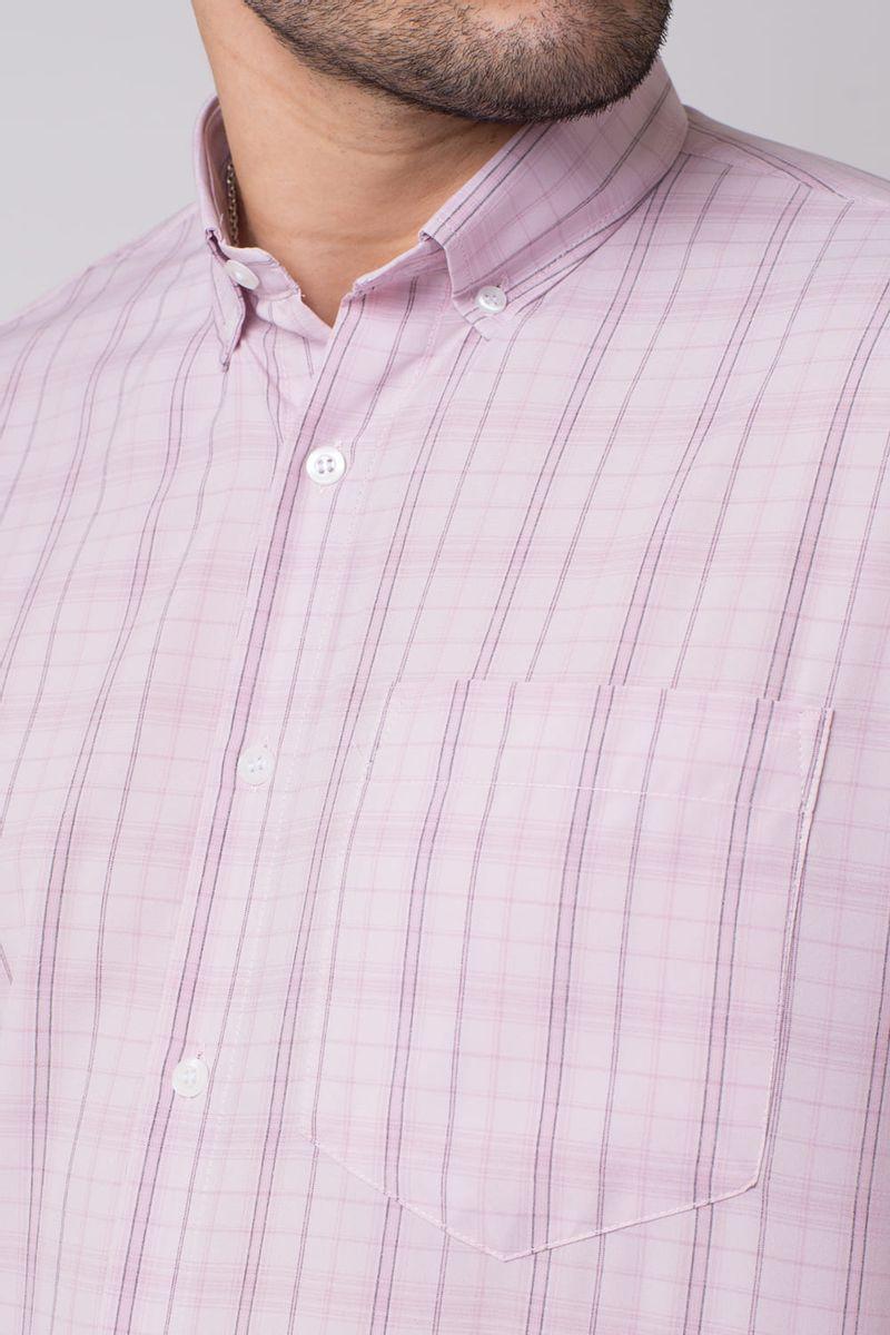 Camisa-casual-masculina-tradicional-microfibra-rosa-f07527a-3