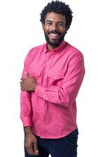 Camisa-casual-masculina-tradicional-sarjada-pink-f01695a-5