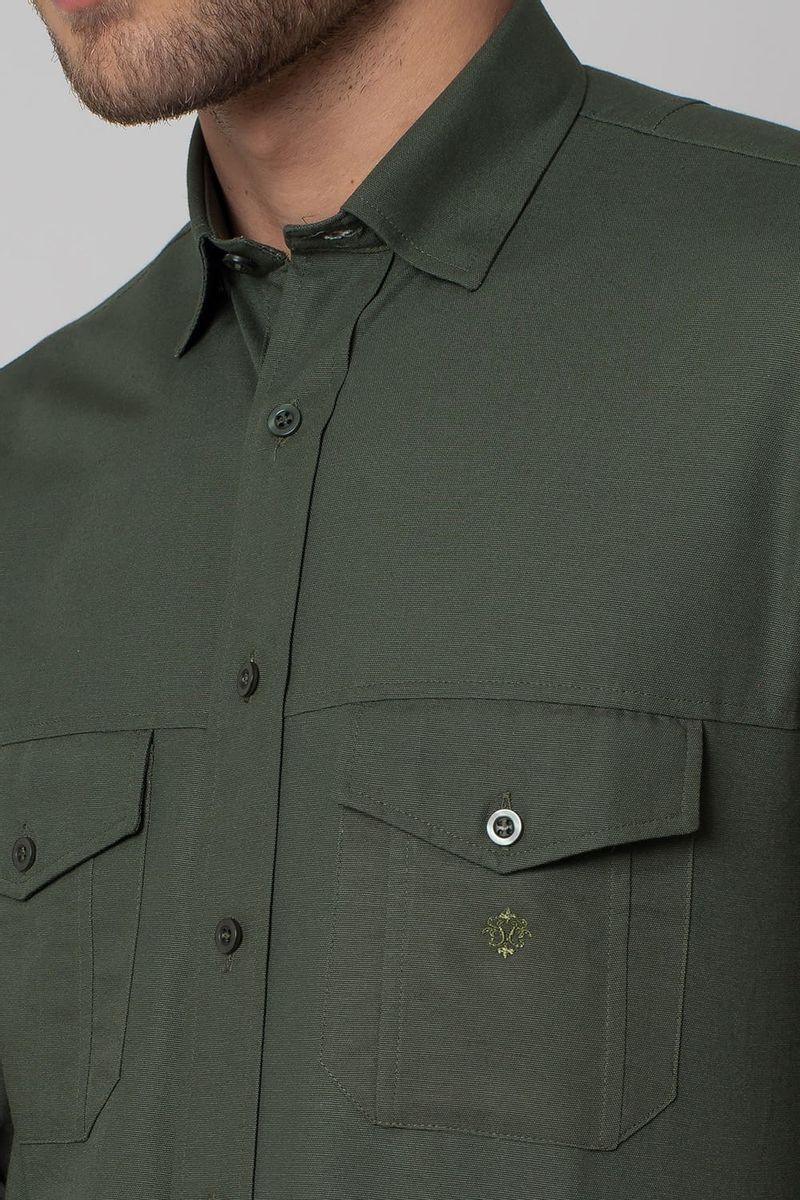 Camisa-casual-masculina-tradicional-sarjada-verde-f01695a-3