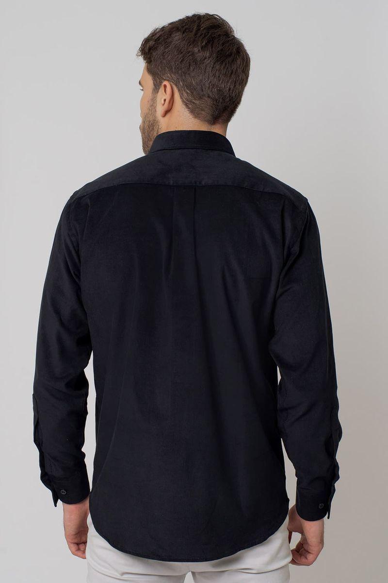 Camisa-casual-masculina-tradicional-veludo-preto-f02033a-2