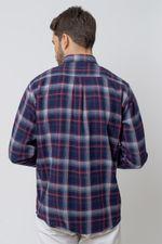 Camisa-casual-masculina-tradicional-flanela-azul-escuro-f08188a-2