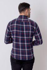 Camisa-Casual-Masculina-Tradicional-Flanela-Azul-08210-01