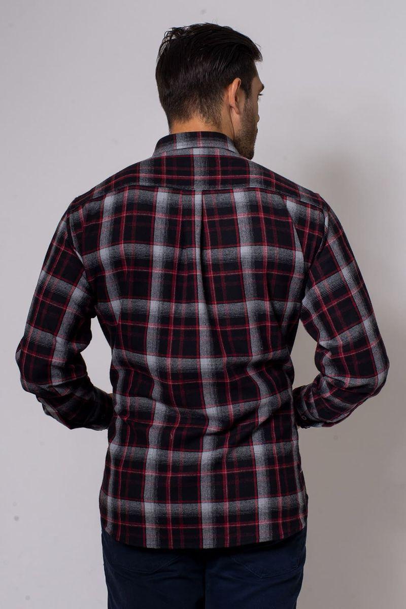 Camisa-Casual-Masculina-Tradicional-Flanela-Preto-08188-01