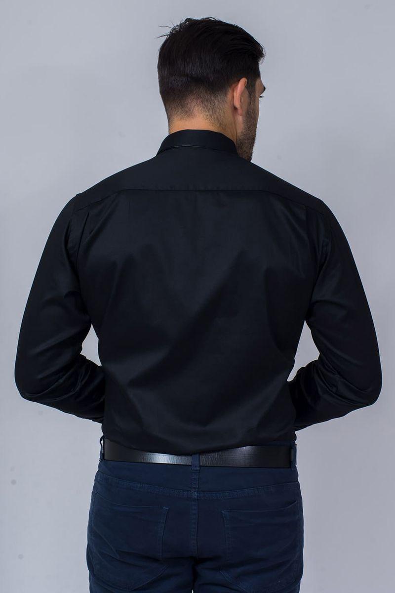 Camisa-Social-Masculina-Tradicional-Algodao-Fio-80-Preto-08393-01