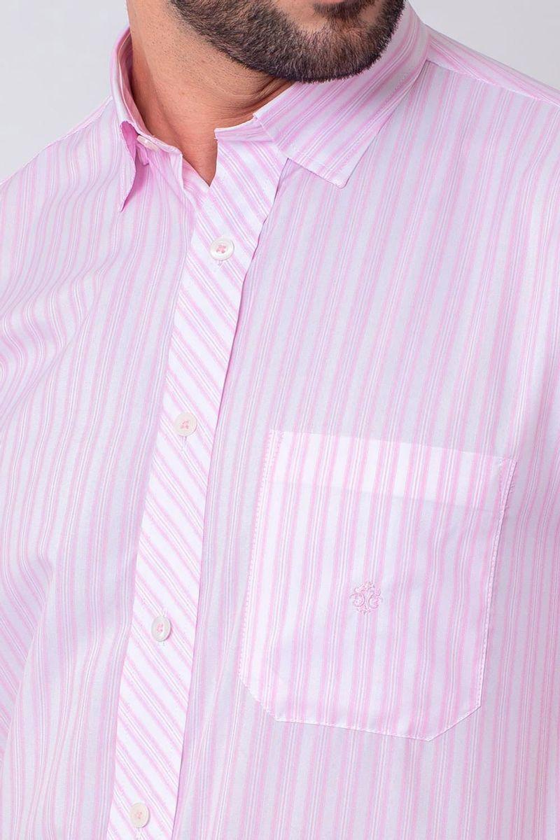 Camisa-Casual-Masculina-Tradicional-Microfibra-Rosa-08024-01