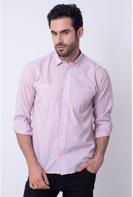 Camisa  Microfibra Rosa 011 08030