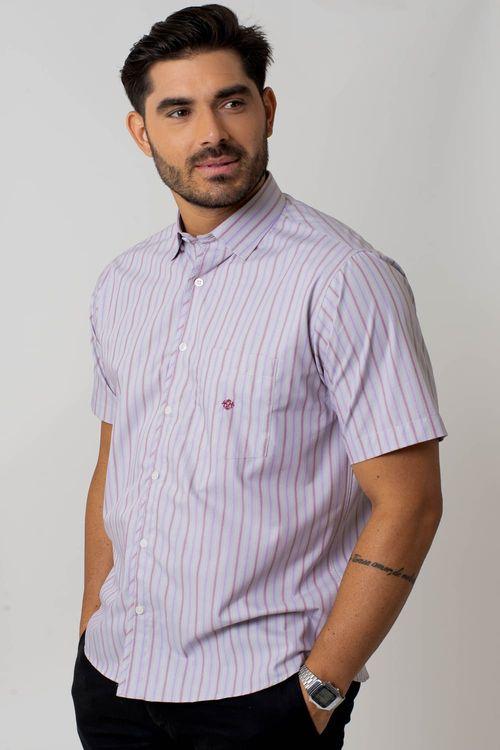 Camisa casual masculina tradicional algodão fio 50 bege f01267a
