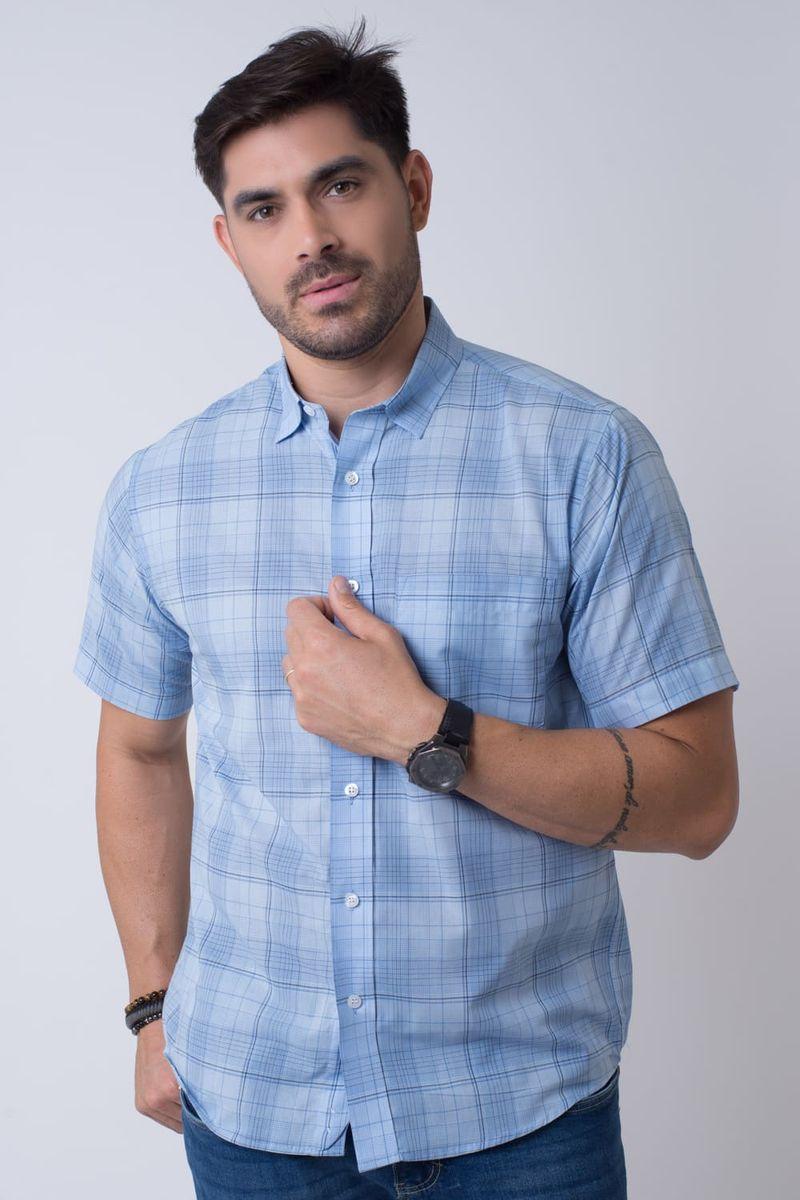Camisa-Casual-Masculina-Tradicional-Algodao-Fio-40-Azul-Claro-07347-01