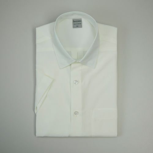 Camisa Casual Masculina Tradicional Microfibra Creme 060 09292