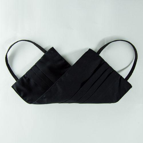 Kit com 10 Máscaras Sociais Algodão Fio 50 Preto 002 09527