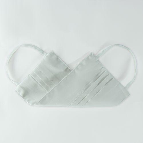 Kit com 10 Máscaras Sociais  em Puro Algodão Branco 005 09527