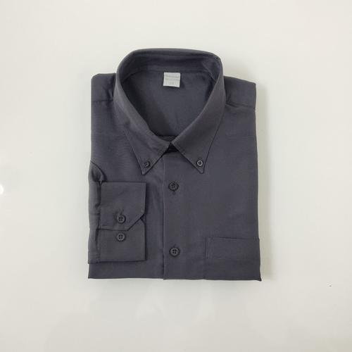 Camisa Casual Masculina Tradicional Microfibra Preto 002 01261
