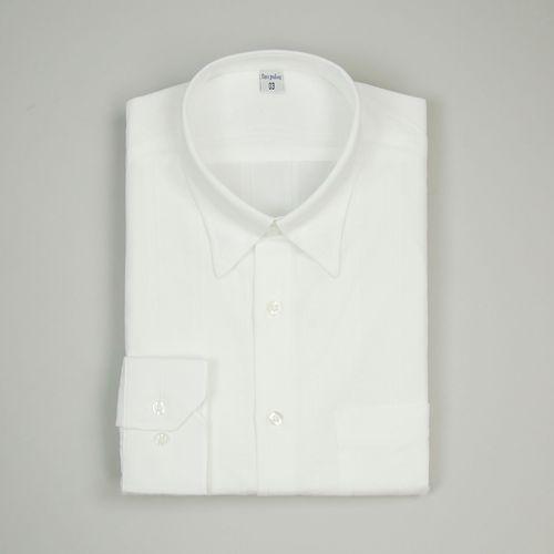 Camisa Slim Masculina Tradicional Algodão Misto Branco 005 01079