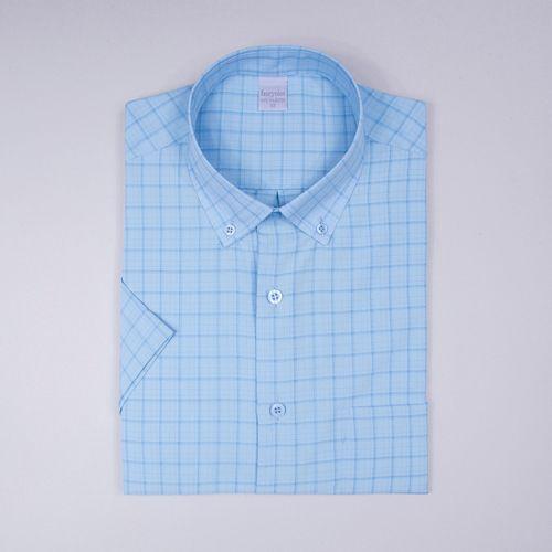 Camisa casual microfibra Azul Claro 008 09363