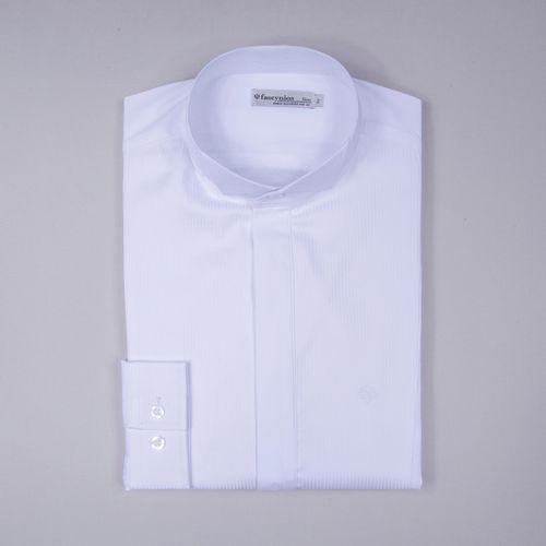 Camisa Traje a rigor Algodão Fio 60 Maquinetada Branco 353 09629